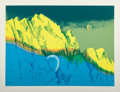Fine Art - Work on Paper:Print, Clarence Holbrook Carter (1904-2000). Pilgrimage #4, 1977.Screenprint in colors on paper. 22 x 30 (...