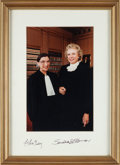 Autographs:Statesmen, Associate Justices Ruth Bader Ginsburg and Sandra Day O'ConnorSigned Photograph....