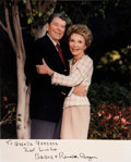 Autographs:U.S. Presidents, Ronald and Nancy Reagan Signed Photograph....