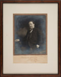 Autographs:U.S. Presidents, William H. Taft Signed Photograph....