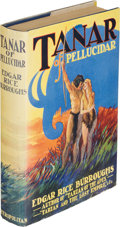 Books:Science Fiction & Fantasy, Edgar Rice Burroughs. Tanar of Pellucidar. New York:Metropolitan Books, [1930]. First edition of the thirdPelluc...