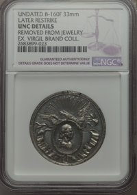 Undated MS George Washington Birth Centennial Civic Procession Medal, Later Restrike -- Ex-Jewelry -- NGC Details. UNC...