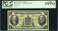 Canadian Currency: , Montreal, PQ- Royal Bank of Canada $5 Jan. 2, 1935 Ch. # 630-18-02a. ...