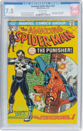 Bronze Age (1970-1979):Superhero, The Amazing Spider-Man #129 (Marvel, 1974) CGC VF- 7.5 Off-whitepages....