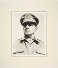Autographs:Military Figures, Douglas MacArthur Signed Photograph....