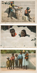 Miscellaneous:Postcards, Three Racist Postcards.... (Total: 3 Items)