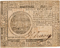 Miscellaneous, Seven Dollar Continental Currency Note....