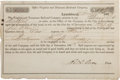 Miscellaneous, Slave Hire Contract for Virginia and Tennessee Railroad....