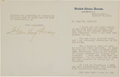 Autographs:U.S. Presidents, Florence K. Harding Typed Letter Signed...
