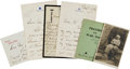 Autographs:Non-American, [Queen Victoria]. Collection of Documents and Items Relating toQueen Victoria's Children....