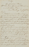 Autographs:Military Figures, Pierre G.T. Beauregard Autograph Letter Signed. ...