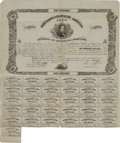 Miscellaneous, Confederate States of America Stock Certificate....