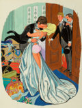Other, Dink Siegel (American, 1910-2003). Bad Luck Bride, Playboy Cartoon, July 1969. Mixed media on board. 11.5 x 8.75 in. (im...