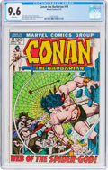 Bronze Age (1970-1979):Adventure, Conan the Barbarian #13 (Marvel, 1972) CGC NM+ 9.6 White pages....