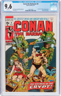 Bronze Age (1970-1979):Adventure, Conan the Barbarian #8 (Marvel, 1971) CGC NM+ 9.6 White pages....