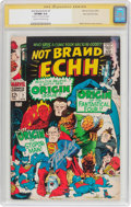 Silver Age (1956-1969):Humor, Not Brand Echh #7 Stan Lee File Copy Pedigree - Signature Series (Marvel, 1968) CGC VF/NM 9.0 Cream to off-white pages....