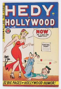 Hedy of Hollywood #36 (Atlas, 1949) Condition: FN/VF
