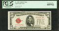 Small Size:Legal Tender Notes, Fr. 1529 $5 1928D Mule Legal Tender Note. PCGS Extremely Fine 40PPQ.. ...