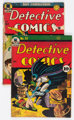 Detective Comics #51 and 79 Group (DC, 1941-43) Condition: Average FR.... (Total: 2 Comic Books)