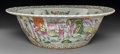 Asian:Chinese, A Chinese Famille Rose Enameled Porcelain Basin, circa 1900. 5-1/8inches high x 16 inches diameter (13.0 x 40.6 cm). ...