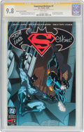 Modern Age (1980-Present):Superhero, Superman/Batman #1 Retailer Incentive Edition - Signature Series(DC, 2003) CGC NM/MT 9.8 White pages....