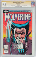 Modern Age (1980-Present):Superhero, Wolverine #1 Signature Series (Marvel, 1982) CGC NM/MT 9.8 Whitepages....