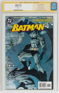 Batman #608 Second Printing - Signature Series (DC, 2002) CGC NM/MT 9.8 White pages