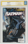 Modern Age (1980-Present):Superhero, Batman #608 Signature Series (DC, 2002) CGC NM/MT 9.8 White pages....