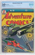 Golden Age (1938-1955):Superhero, Adventure Comics #65 (DC, 1941) CBCS GD/VG 3.0 Off-white to white pages....