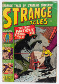 Golden Age (1938-1955):Horror, Strange Tales #3 (Atlas, 1951) Condition: GD....