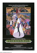 "Movie Posters:Animated, American Pop (Columbia, 1981). One Sheet (27"" X 41""). Ralph Bakshi created this ""living animation"" look at American music in..."