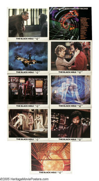 """The Black Hole (Buena Vista, 1979). Lobby Card Set of 8 (11"""" X 14""""). A research vessel finds a missing ship, c..."""