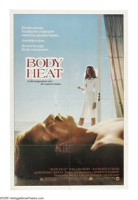 "Body Heat (Warner Brothers, 1981). One Sheet (27"" X 41""). ""You aren't too bright. I like that in a man.&q..."