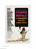 "Movie Posters:Adventure, Casino Royale (Columbia, 1967). One Sheet (27"" X 41""). This is avintage, theater-used poster for this comedy/spy adventure ..."