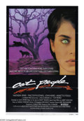 "Movie Posters:Horror, Cat People (Universal, 1982). One Sheet (27"" X 41"") Style B. In this erotic remake of the 1942 classic, a young woman's is h..."
