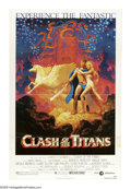 "Movie Posters:Fantasy, Clash of the Titans (MGM, 1981). One Sheet (27"" X 41""). Theadventures of Perseus in his quest to rescue Andromeda was the l..."