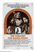 """Movie Posters:Documentary, Concert for Bangladesh (20th Century Fox, 1972). One Sheet (27"""" X 41"""") Style B. George Harrison, Bob Dylan and Leon Russell ..."""