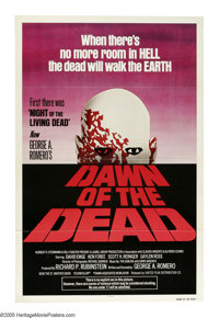 "Dawn of the Dead (United Film Distribution, 1978). One Sheet (27"" X 41""). In George Romero's first sequel to &..."