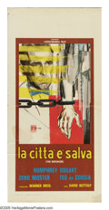 """Movie Posters:Film Noir, The Enforcer (Warner Brothers, R-1960s). Italian Locandina (13"""" X 27.5""""). This film was loosely based on the true story of M..."""