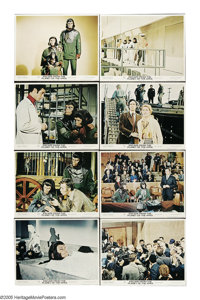 "Escape from the Planet of the Apes (20th Century Fox, 1971). Lobby Card Set of 8 (11"" X 14""). Following the ev..."