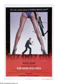 "Movie Posters:Action, For Your Eyes Only (United Artists, 1981). One Sheet (27"" X 41"")Advance. Roger Moore as 007 searches for a lost British enc..."