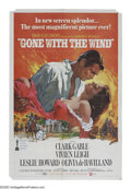 "Movie Posters:Academy Award Winner, Gone With the Wind (MGM, R-1968). One Sheet (27"" X 41""). MargaretMitchell's epic tale of life, love, and survival in the So..."