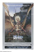 """Movie Posters:Animated, Heavy Metal (Columbia, 1981). One Sheet (27"""" X 41"""") Style B. Cultfantasy classic in which a glowing orb terrorizes a young ..."""