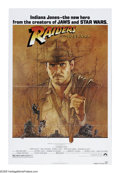 "Movie Posters:Adventure, Raiders of the Lost Ark (Paramount, 1981). One Sheet (27"" X 41"").Archaeologist and adventurer Indiana Jones is hired by the..."