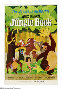 """The Jungle Book (Buena Vista, 1967). One Sheet (27"""" X 41""""). This charming Disney classic was the final animate..."""