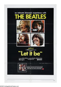 """Movie Posters:Musical, Let It Be (United Artists, 1970). One Sheet (27"""" X 41""""). The biopic of the Beatles's attempt to recapture their old group s..."""