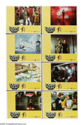 "Movie Posters:Science Fiction, Logan's Run (MGM, 1976). Lobby Card Set of 8 (11"" X 14""). Life isnearly perfect in this future world, except for the fact t...(Total: 8 Items)"
