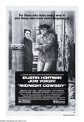 "Movie Posters:Academy Award Winner, Midnight Cowboy (United Artists, R-1980). One Sheet (27"" X 41"").Rerelease of John Schlesinger's Academy Award winning film...."