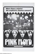 "Movie Posters:Rock and Roll, Pink Floyd (April Fools Productions, 1972). One Sheet (27"" X 41"").This is an original vintage theater-used poster for the f..."
