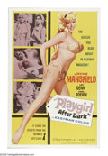 "Movie Posters:Crime, Playgirl After Dark (Topaz, 1960). One Sheet (27"" X 41""). JohnnySolo (Leo Genn) and Diamonds Dielli (Sheldon Lawrence) are ..."